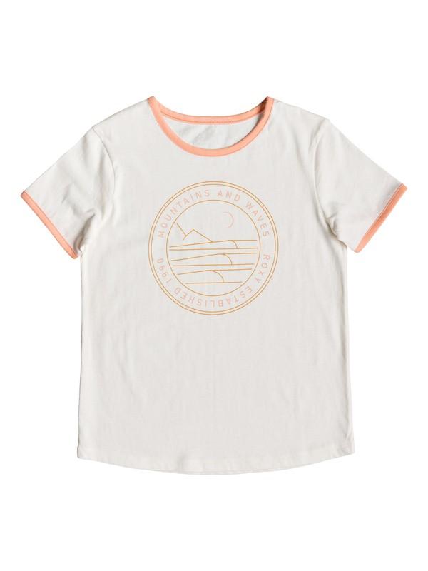 0 Eye On You B - Camiseta para Chicas 8-16 Blanco ERGZT03414 Roxy
