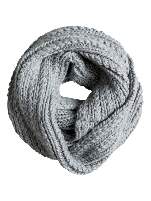 0 Круглый шарф-воротник Love Is A Distraction Scarf Белый ERJAA03162 Roxy