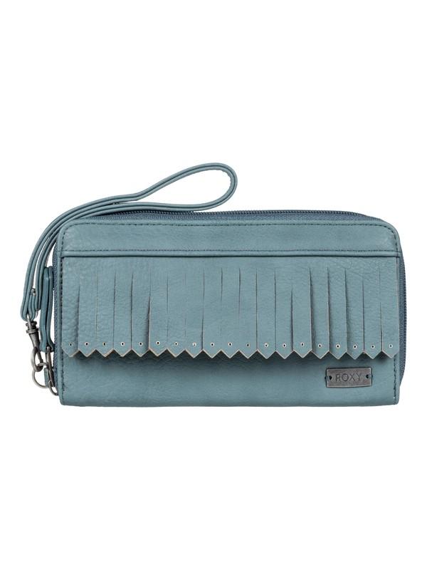 0 Poppy Field Zipper Wallet  ERJAA03265 Roxy