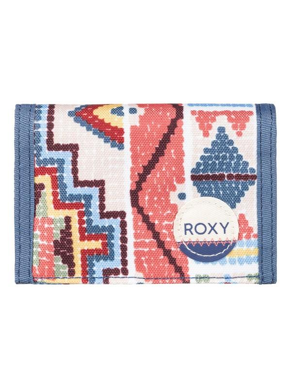 0 Small Beach - Hook & Loop Wallet for Women Orange ERJAA03307 Roxy