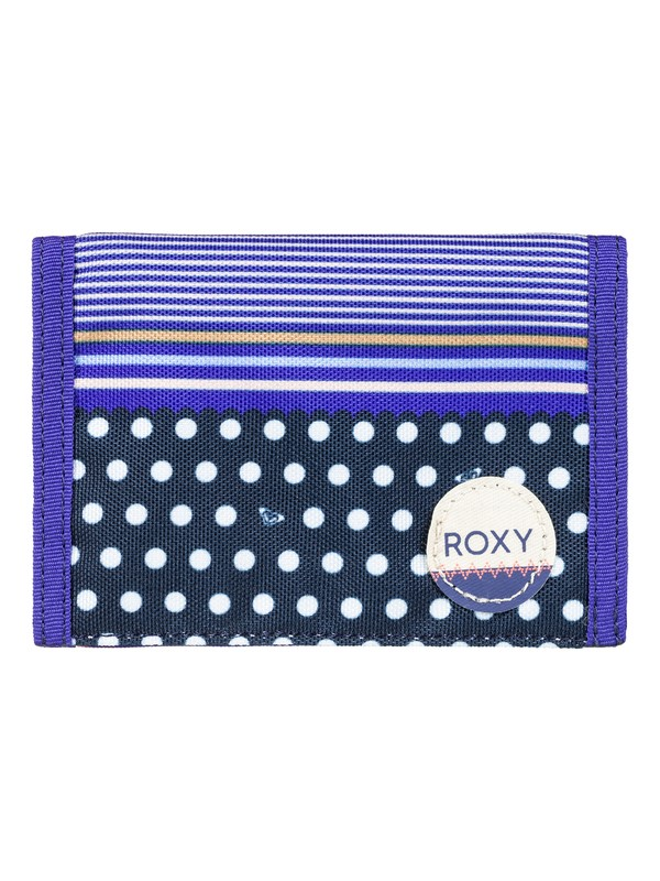 0 Beach Glass - Hook & Loop Wallet Pink ERJAA03308 Roxy