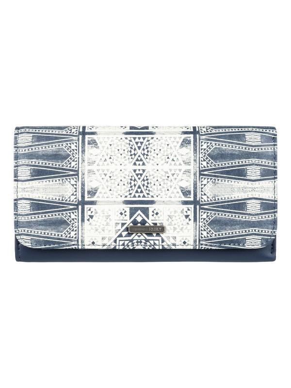 0 My Long Eyes Snap Closure Wallet  ERJAA03309 Roxy