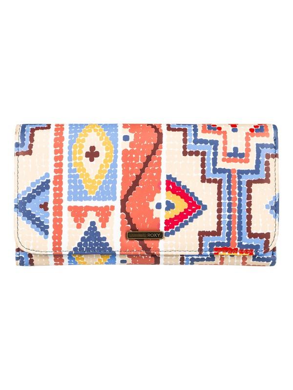 0 My Long Eyes - Portemonnaie mit Druckknopf-Verschluss für Frauen Orange ERJAA03309 Roxy