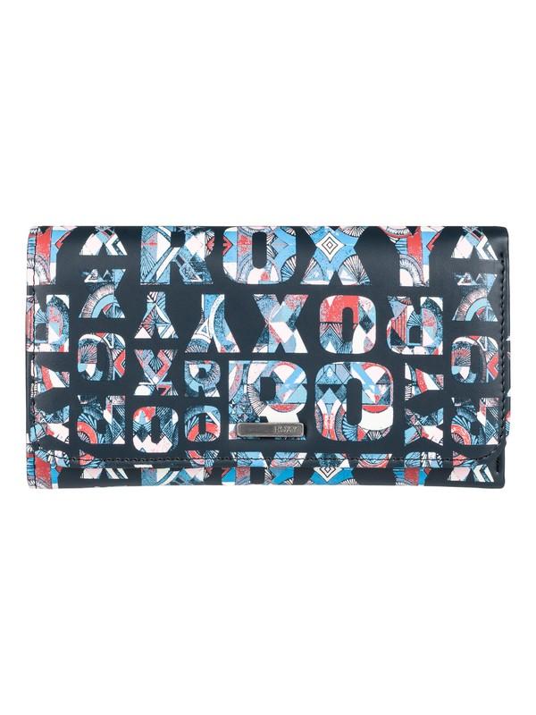 0 My Long Eyes - Snap Closure Wallet  ERJAA03309 Roxy