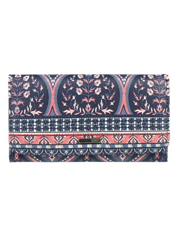 0 My Long Eyes Tri Fold Wallet  ERJAA03389 Roxy