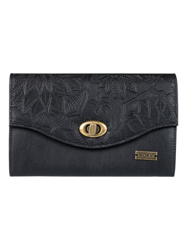 0 Pink Motel Faux Leather Wallet  ERJAA03400 Roxy
