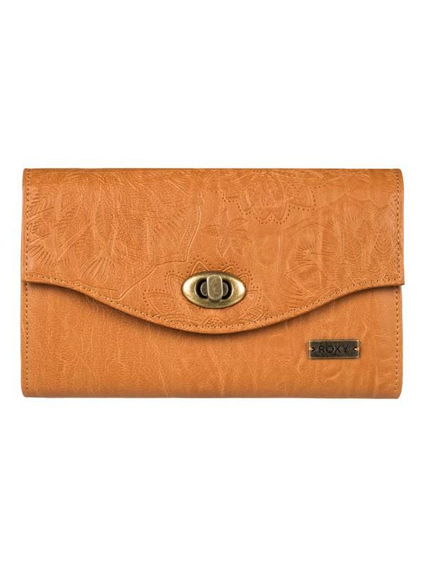 0 Pink Motel - Portefeuille imitation cuir pour Femme Orange ERJAA03400 Roxy
