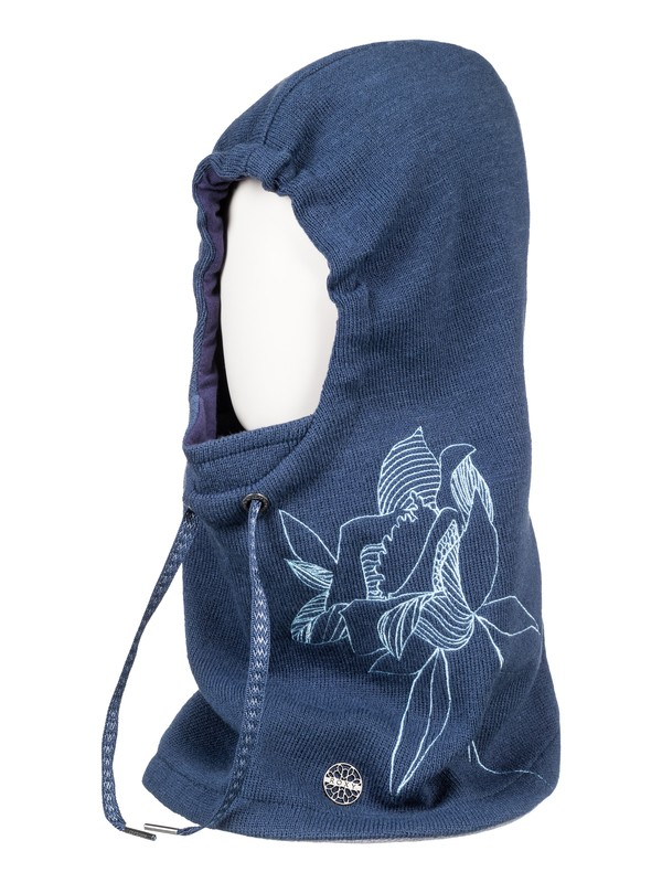 0 ROXY 2N1 Hooded Neck Warmer Blue ERJAA03459 Roxy
