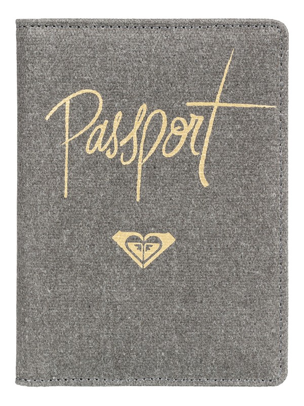 0 Live Your Dreams Passport Cover Black ERJAA03507 Roxy