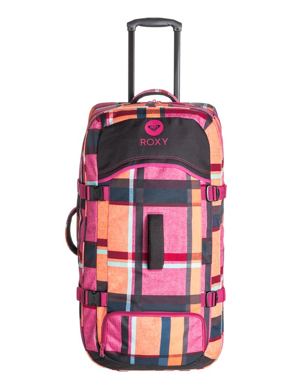 0 Long Haul Rolling Travel Bag  ERJBL03042 Roxy