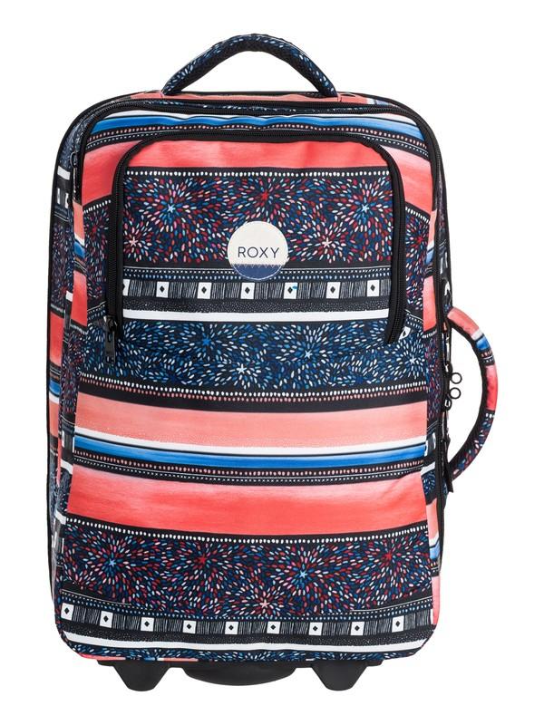 0 Roll Up Rolling Suitcase  ERJBL03062 Roxy