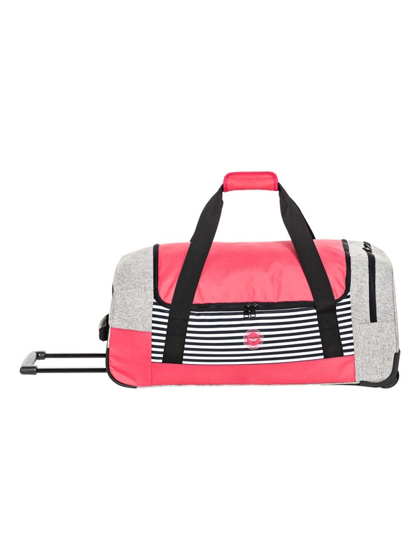 0 Distance Accross  Large Wheelie Duffle Bag Grey ERJBL03112 Roxy
