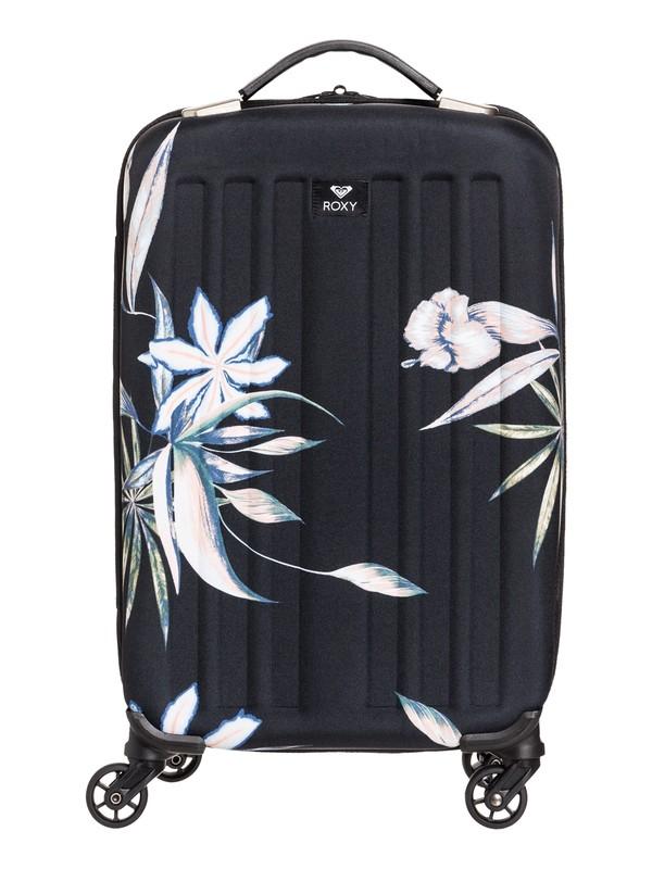 0 Stay True 35L Wheeled Cabin Suitcase Black ERJBL03133 Roxy