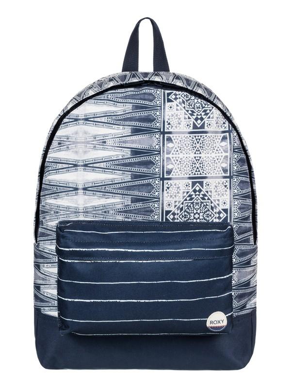 0 Sugar Baby 16L - Medium Backpack Blue ERJBP03543 Roxy