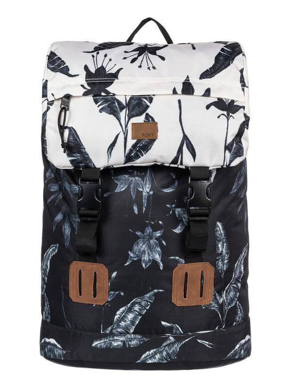 0 Sunset Pacific 25L Medium Backpack  ERJBP03549 Roxy