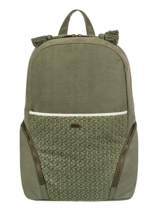 0 Bombora 28L - Large Backpack Green ERJBP03554 Roxy