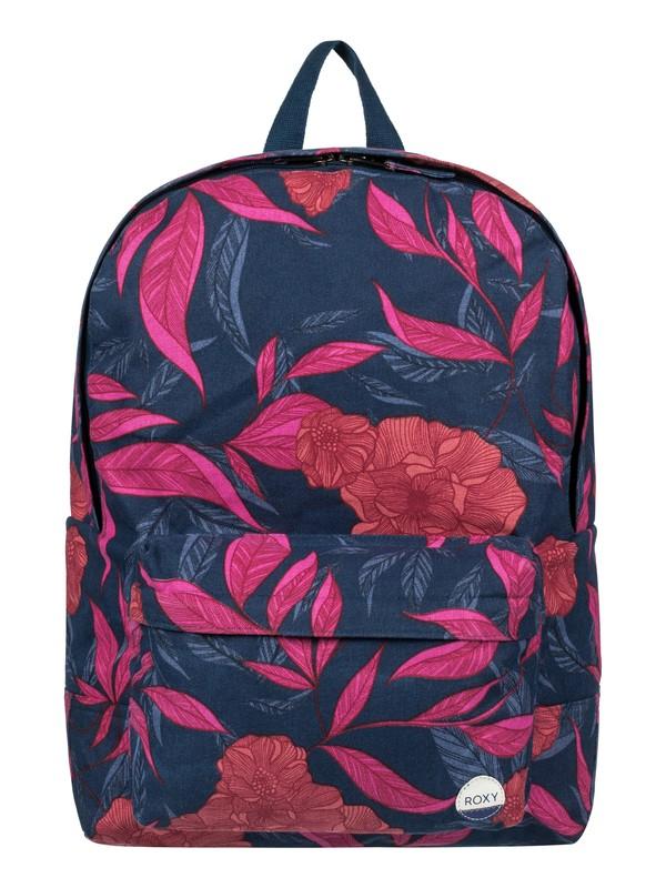 0 Sugar Canvas 16L  Medium Backpack  ERJBP03597 Roxy