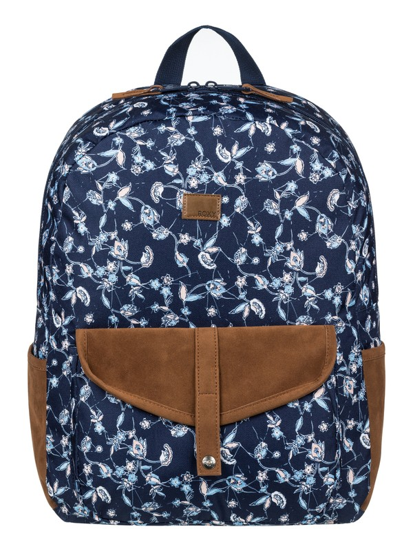 0 Carribean Medium Backpack Blue ERJBP03642 Roxy