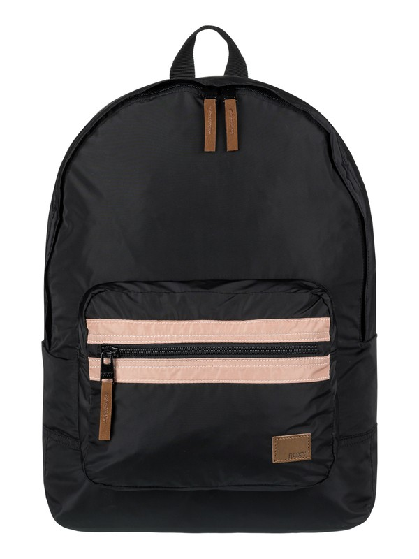 0 Morning Light 16L Medium Backpack Black ERJBP03687 Roxy