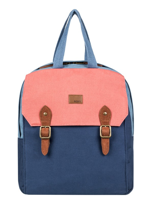 0 Iconic Stop Colorblock 10L Small Backpack Blue ERJBP03690 Roxy