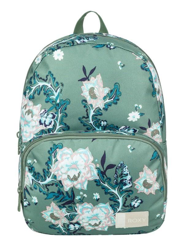 0 Always Core 8 L Small Backpack Green ERJBP03695 Roxy