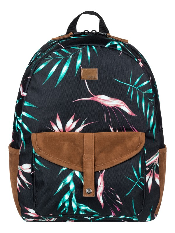 0 Carribean 18 L Medium Backpack Black ERJBP03697 Roxy