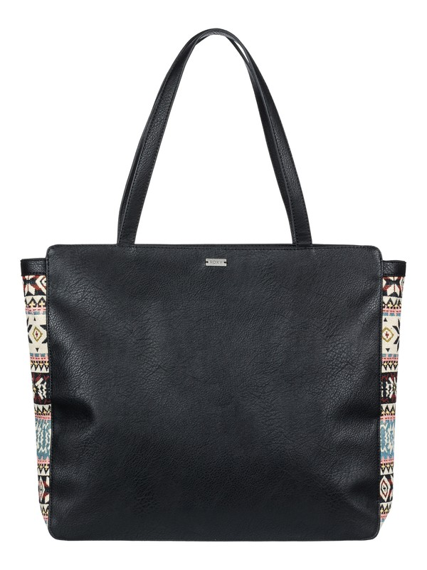 0 Art Experience Tote Bag Black ERJBP03709 Roxy