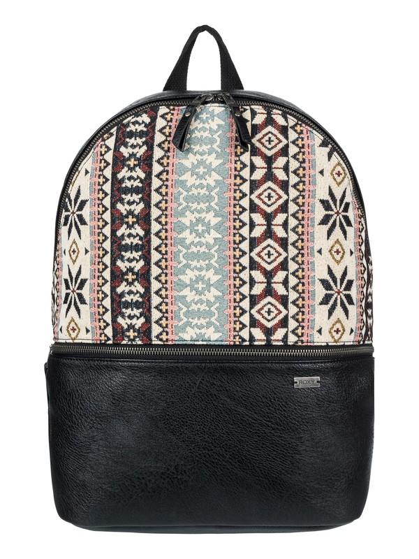 0 Black Ripped 15 L Small Backpack Black ERJBP03710 Roxy