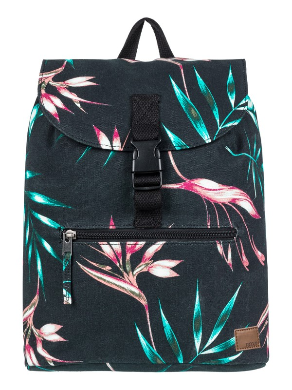 0 Sweetest Little Face 10 L Small Backpack Black ERJBP03712 Roxy
