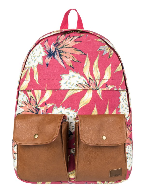 0 Mochila Mediana Stop and Share de 16 L Rosa ERJBP03714 Roxy
