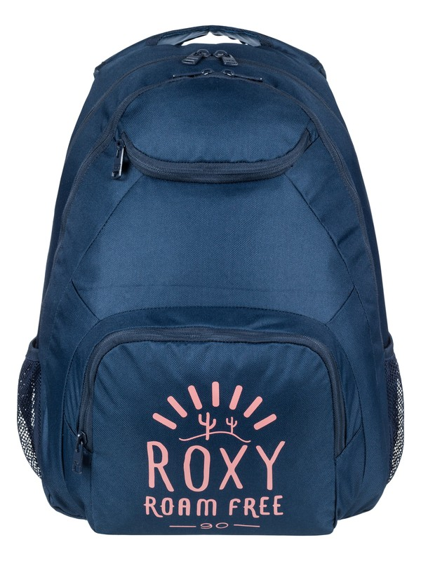 0 Shadow Swell Solid 24 L Medium Backpack Blue ERJBP03716 Roxy