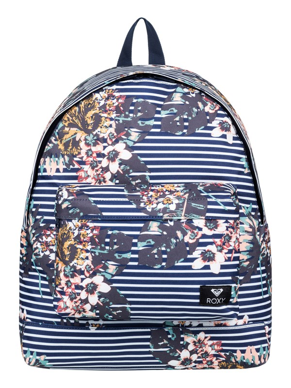 0 Be Young 24L - Medium Backpack Blue ERJBP03732 Roxy