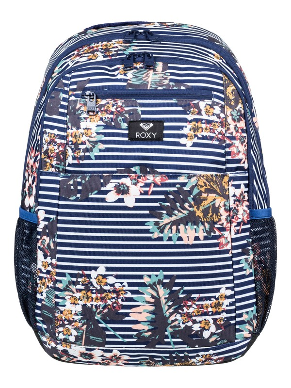 0 Here You Are 23.5L - Medium Backpack Blue ERJBP03745 Roxy