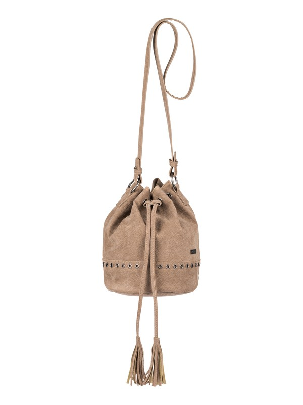 0 Hear Me Now Small Bucket Bag Beige ERJBP03756 Roxy