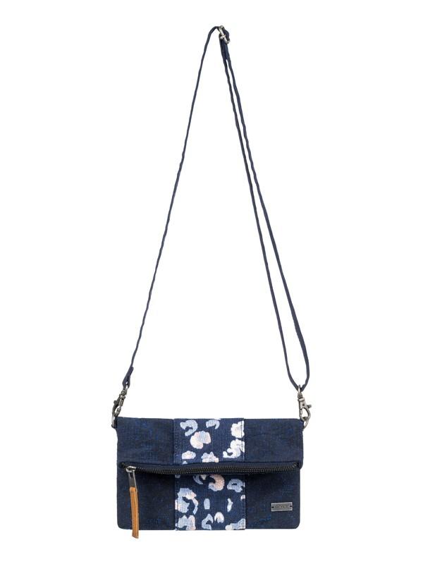 0 Poetic Winter Small Crossbody Handbag Blue ERJBP03766 Roxy