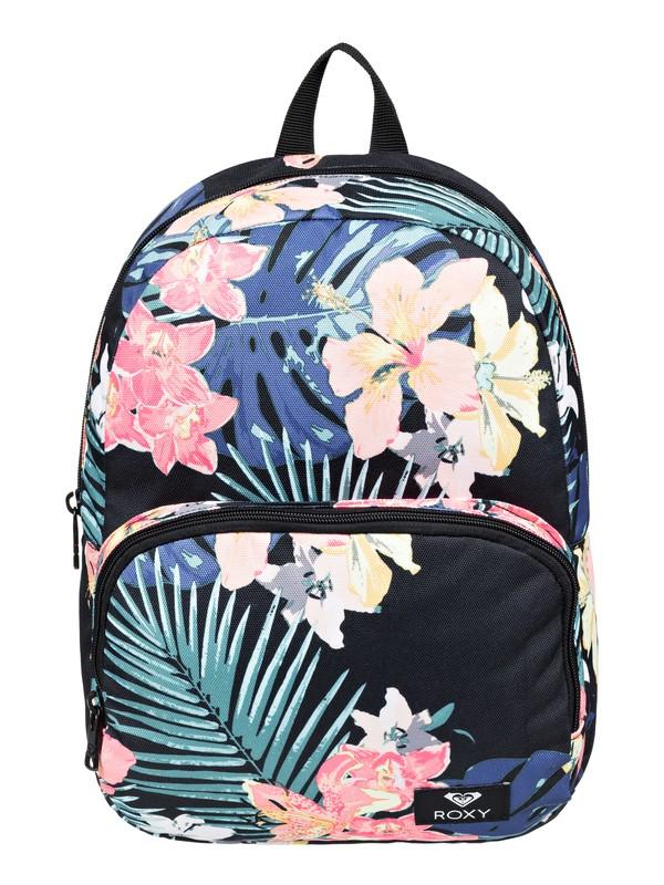 0 Always Core 18L Medium Backpack Black ERJBP03780 Roxy
