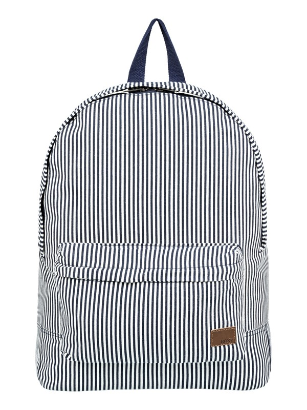 0 Sugar Baby Canvas 16L Small Backpack Blue ERJBP03786 Roxy