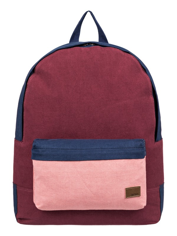 0 Sugar Baby Canvas 16L Small Backpack Red ERJBP03788 Roxy