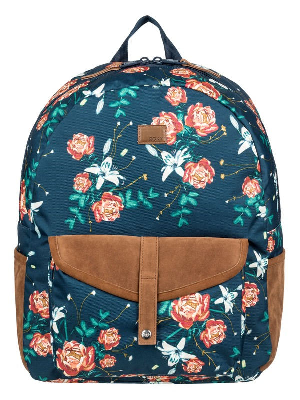 0 Carribean 18L Medium Backpack Blue ERJBP03839 Roxy