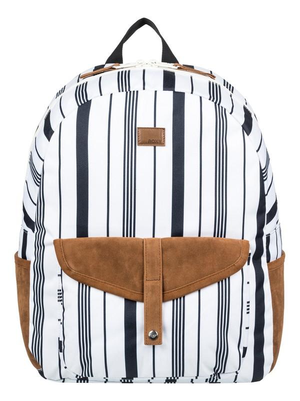 0 Carribean 18L Medium Backpack White ERJBP03839 Roxy