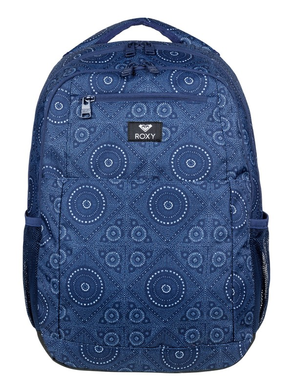 0 Here You Are 23.5L Medium Backpack Blue ERJBP03846 Roxy