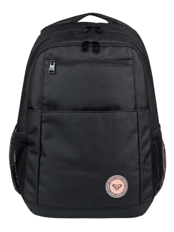 0 Here You Are Solid 23.5L Medium Backpack Black ERJBP03888 Roxy