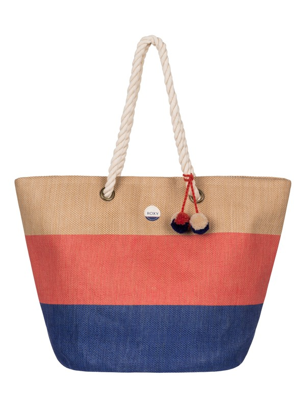 0 Sun Seeker Straw Beach Bag  ERJBT03050 Roxy