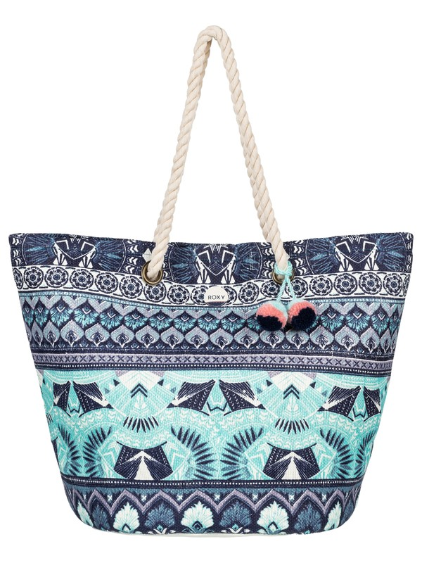 0 Sun Seeker Straw Beach Bag  ERJBT03064 Roxy