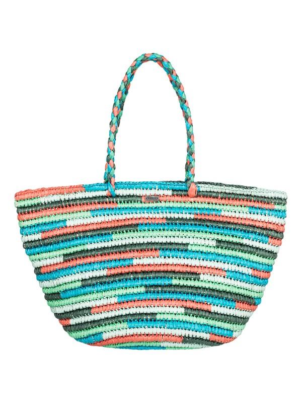 0 Butternut Straw Beach Bag  ERJBT03066 Roxy