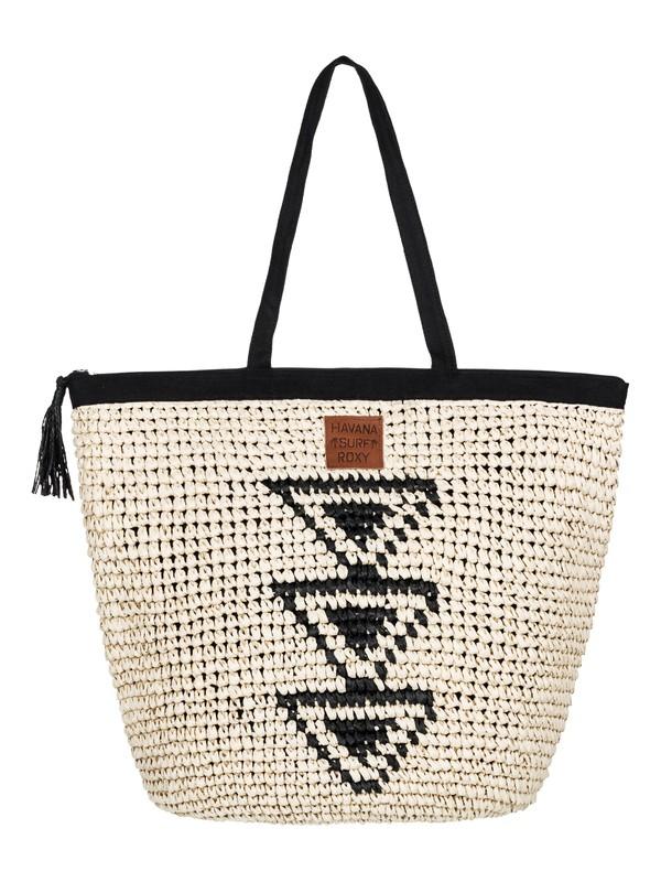 0 Got Rhythm Straw Beach Bag  ERJBT03067 Roxy