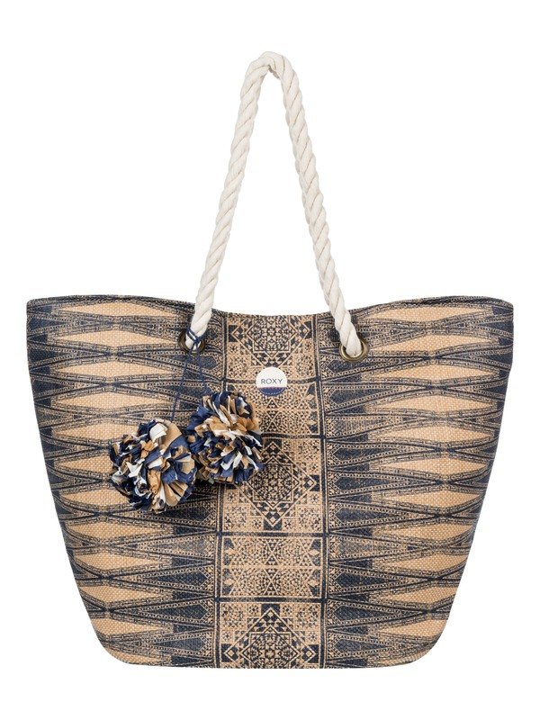 0 Sun Seeker Straw Beach Bag  ERJBT03071 Roxy