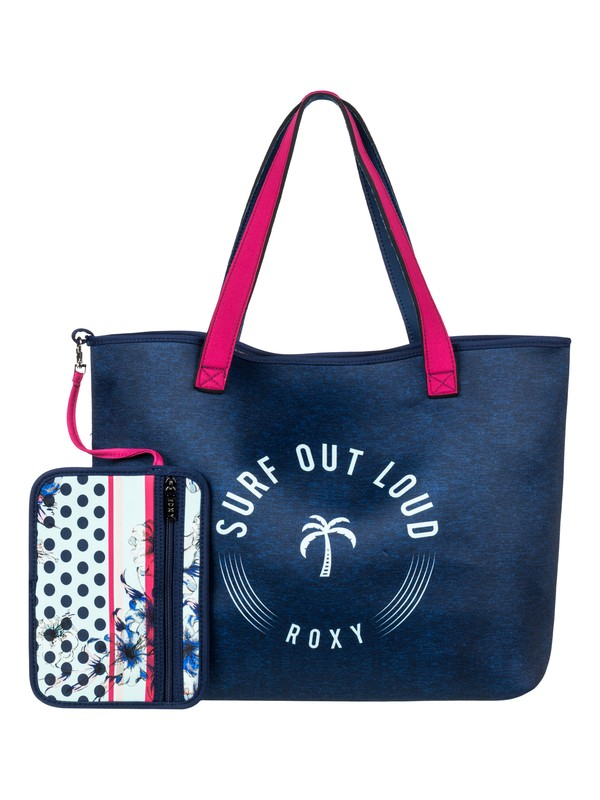 0 Inside The Rock Reversible Neoprene Beach Bag  ERJBT03088 Roxy