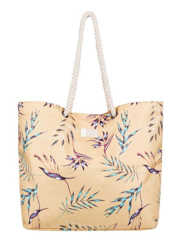 0 Tropical Vibe Printed Beach Bag  ERJBT03097 Roxy