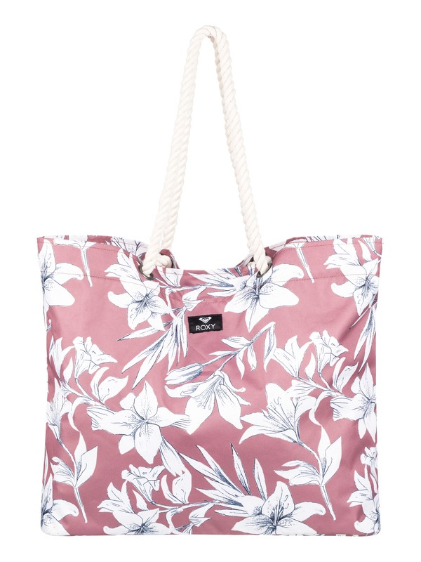 0 Tropical Vibe Beach Bag Pink ERJBT03100 Roxy